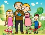 familia-unida-familia-pintado-por-amay-9727409