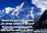 Alzare mis ojos a los montes
