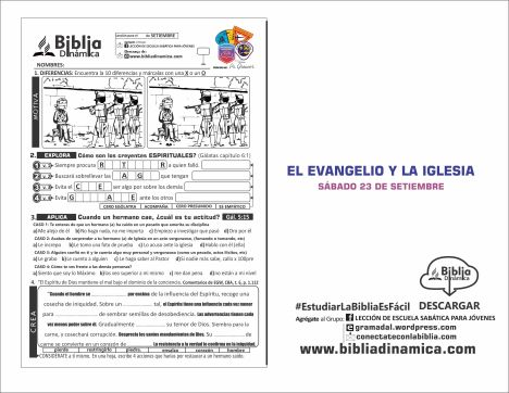 193 EL EVANGELIO Y LA IGLESIA VI;ETA